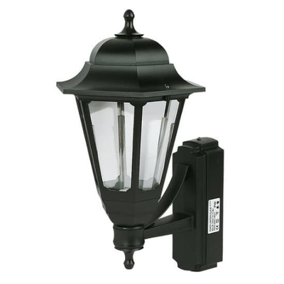 Coach Lantern Black no PIR Sensor