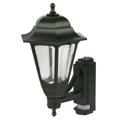 Coach Lantern Black with PIR Sensor