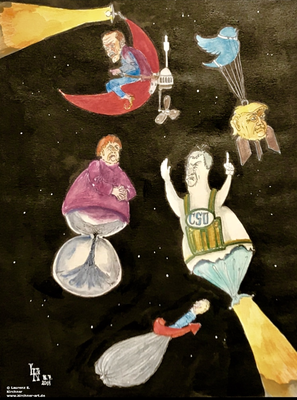 'Lichter am Nachthimmel' oder Welt-UFO-Tag