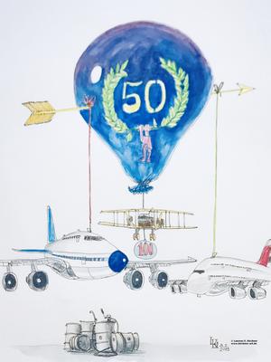 erster internationaler Linienflug vor 100 Jahren - Erstflug Jumbo Jet vor 50 Jahren