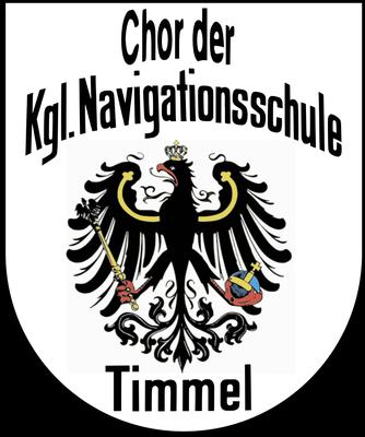 Unser Wappen vom  Chor der Kgl. Navigationsschule