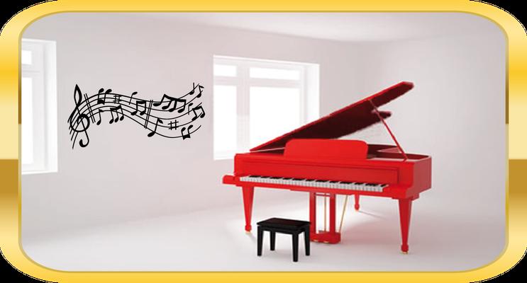 Vinilos Decorativos Musicales