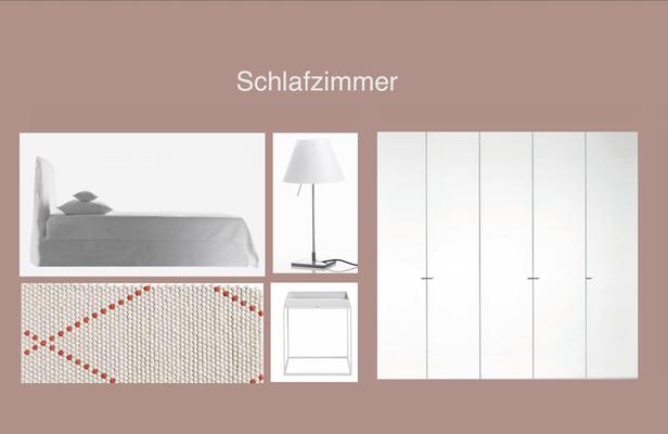 Moodboard Model-Apartment Döltschiweg Zürich
