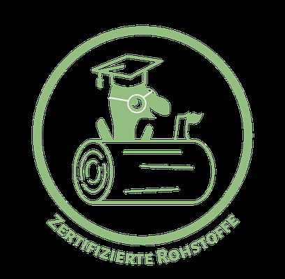 Zertifizierte Rohstoffe