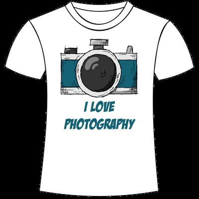 T-shirt personalizzate a tema fotografia San Giorgio di Nogaro