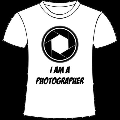 Sono fotografo - T-shirt personalizzate a tema fotografia San Giorgio di Nogaro