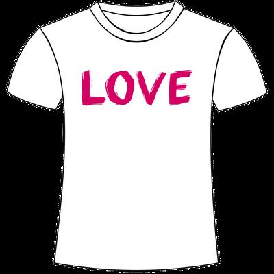Love stampato su maglietta personalizzata da Foto e Grafica Immagini San Giorgio di Nogaro