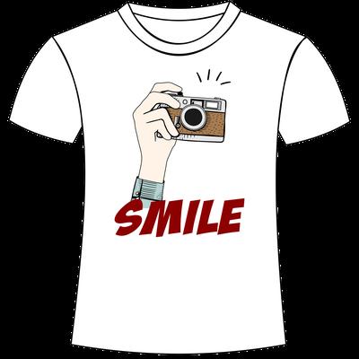 smile - Magliette personalizzate a tema fotografia San Giorgio di Nogaro