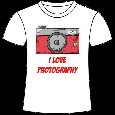 Magliette personalizzate a tema fotografia San Giorgio di Nogaro