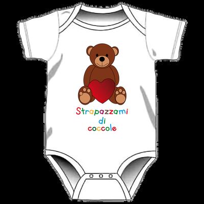 Body con stampa personalizzata per neonati - Starpazzami di coccolo