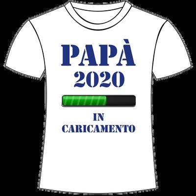 T-shirt personalizzata con stampa per papà in dolce attesa