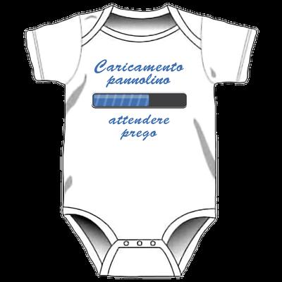 Body personalizzato per neonati -Caricamento pannolino