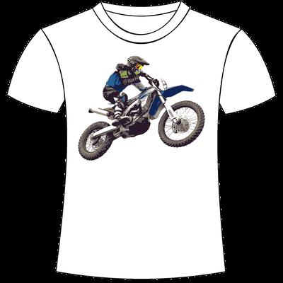 Maglietta personalizzata motocross