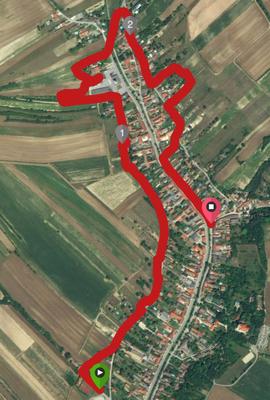 Wolfpassing 3 Kilometer