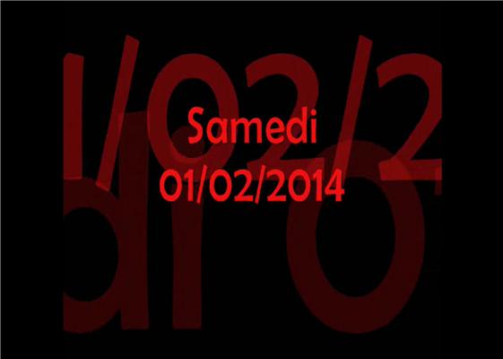 Vidéo des 14km (1ère boucle) de la sortie au départ de Monsures (Sam01/02/2014)