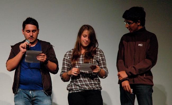 """Le jury """"jeune public"""": trois lycéens ajacciens"""