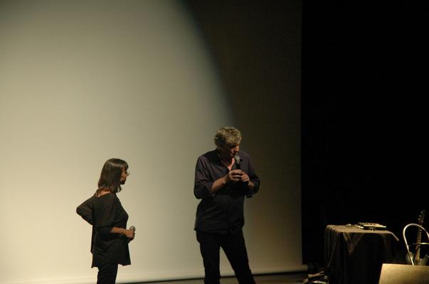 Annick Peigné-Giuly et Rodolphe Burger