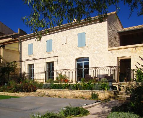 Restauration et extension d'une maison d'habitation dans le Secteur Sauvegardé d'Uzès
