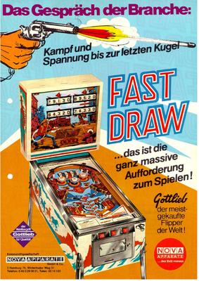 "Flyer ""Fast Draw"""