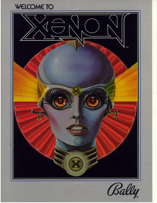 "Flyer ""Xenon"" von Bally"