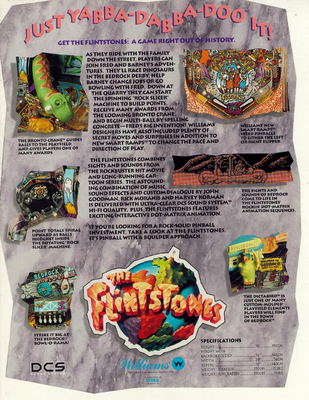 "Flyer ""Flintstones"""