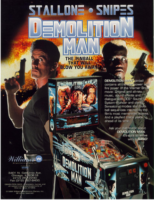 "Flyer ""Demolition Man"""