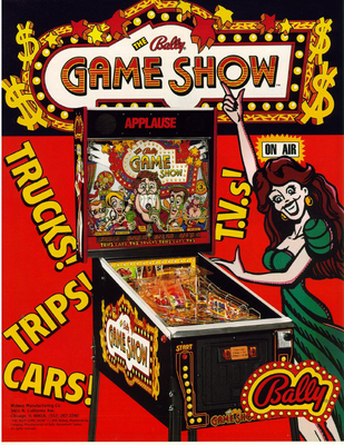 """Game Show"" von Bally"