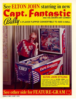 "Flyer ""Capt. Fantastic"""