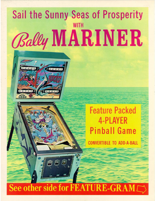 "Flyer ""Mariner"" von Bally"