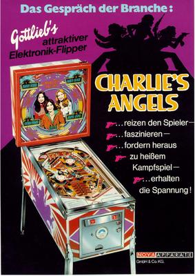 """""""Charlie's Angels"""" von Gottlieb"""