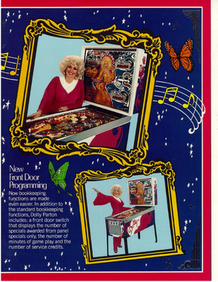 "Flyer ""Dolly Parton"""