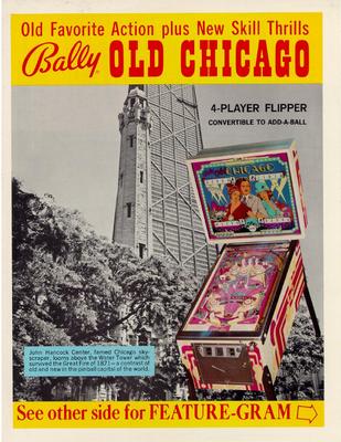 """Flyer """"Old Chicago"""" von Bally"""