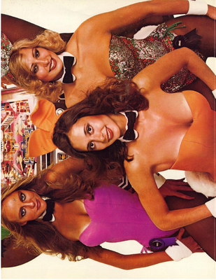 """Flyer """"Playboy"""" von Bally"""
