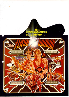 "Flyer ""Flash Gordon"""