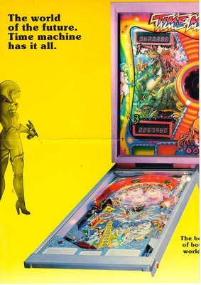 """Flyer """"Time Machine"""" von Zaccaria"""