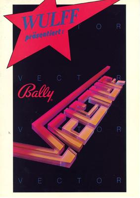 """Flyer """"Vector"""" von Bally"""