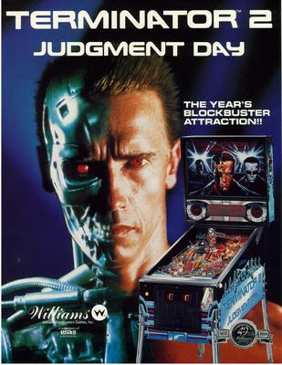 """Flyer """"Terminator 2"""" von Williams"""
