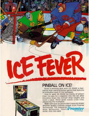 """""""Ice Fever"""" von Gottlieb"""