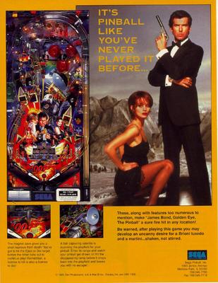 """""""Goldeneye"""" von Sega"""