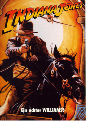 "Flyer ""Indiana Jones"" von Williams deutsch"