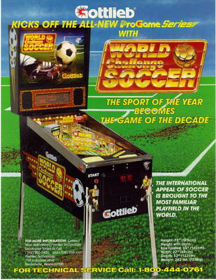 "Flyer ""World Challenge Soccer"" von Gottlieb"