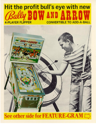 """Bow and Arrow"" von Bally"