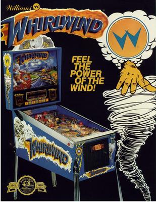 """Flyer """"Whirlwind"""" von Williams"""