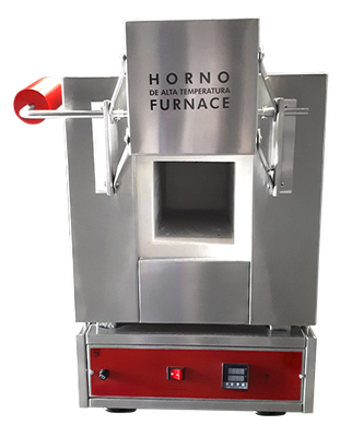 M51130 Mufla digital de laboratorio para temperaturas hasta 1,200ºC, 10 litros.