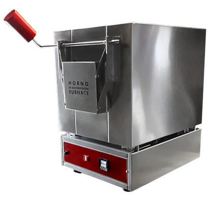 M51125 Mufla digital de laboratorio para temperaturas hasta 1,200ºC, 7 litros.