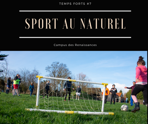 Eco gite Paris le Campus des Renaissances :sport au naturel