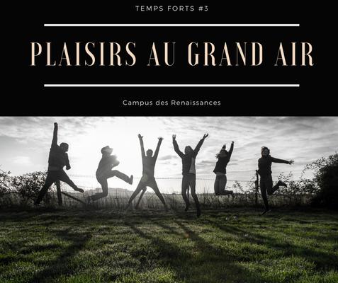 Eco gite Paris le Campus des Renaissances : plaisirs au grand air