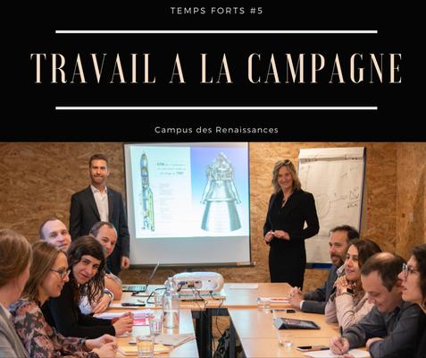 Eco gite Paris le Campus des Renaissances : travail à la campagne