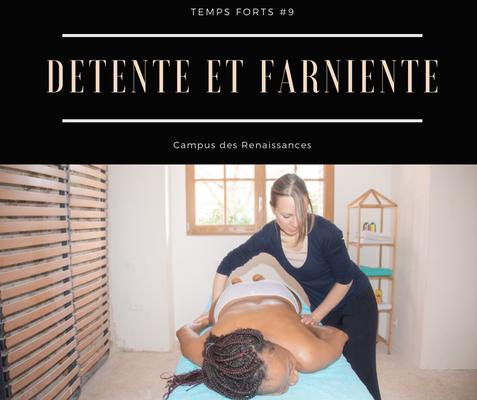 Eco gite Paris le Campus des Renaissances : détente et farniente