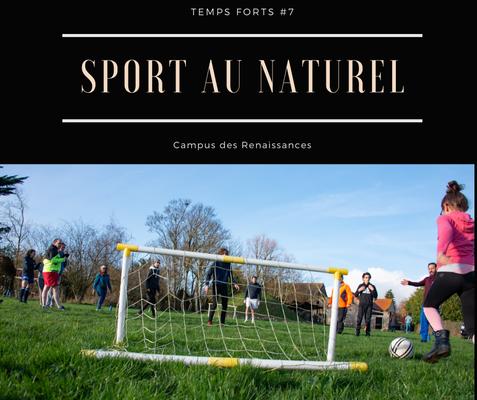 Eco gite Paris le Campus des Renaissances :sport au naturel
